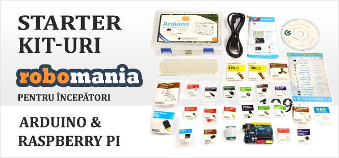 Arduino Raspberry PI Starter Kit