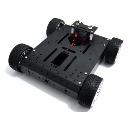 Kit robot aluminiu 4 motoare