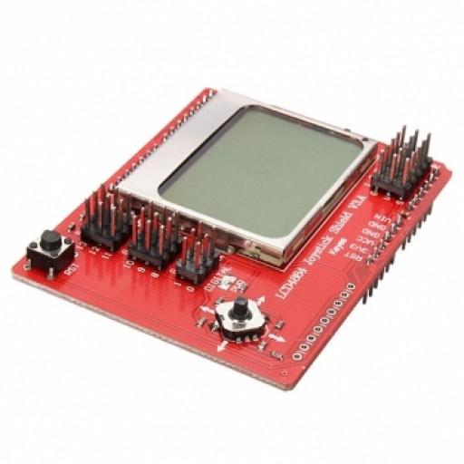 Shield Joystick cu LCD LCD4884