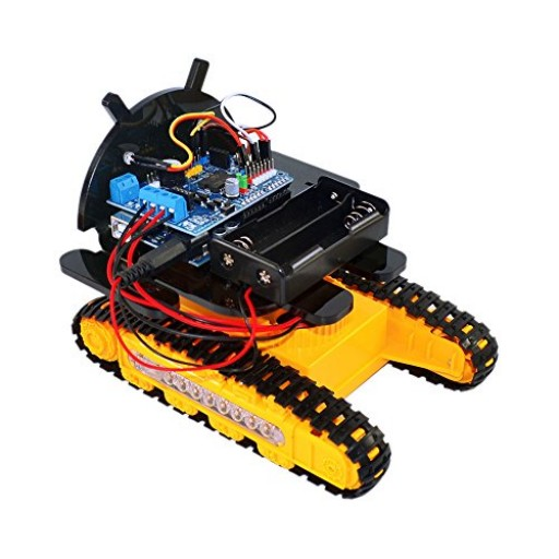 Kit robot cu șenile Bluetooth