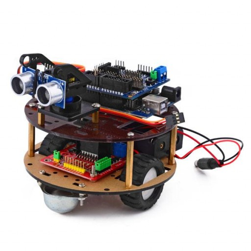 "Kit robot ""Little turtle"" stanga"