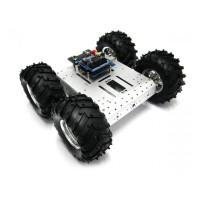 Kit robot aluminiu 4WD