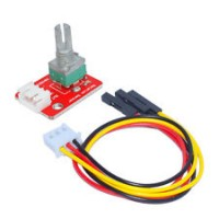 potentiometru rotativ brick cu cablu 3 pini