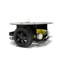 Kit robot aluminiu 2 motoare